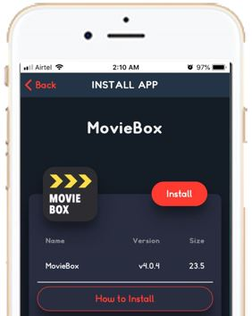 Download Moviebox for iPhone, ipad, using tweakbox