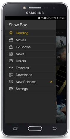 Moviebox Menu