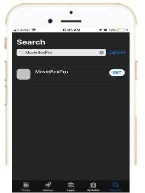 Download MovieBox PRO For iOS Free (iPhone, iPad - No JailBreak)
